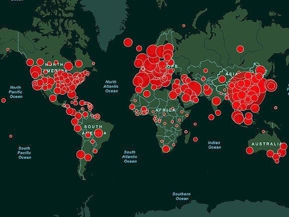 В мире уже более полумиллиона больных COVID-19