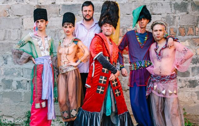 В Украине снимают фильм о жизни геев-казаков на Запорожской Сечи