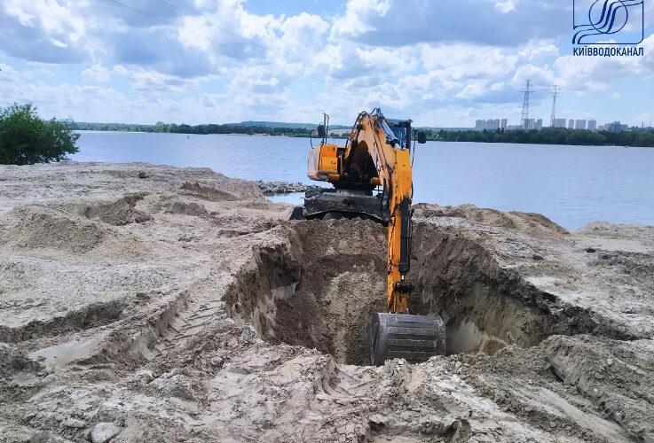 У Києві реконструюють дюкерні переходи через Дніпро