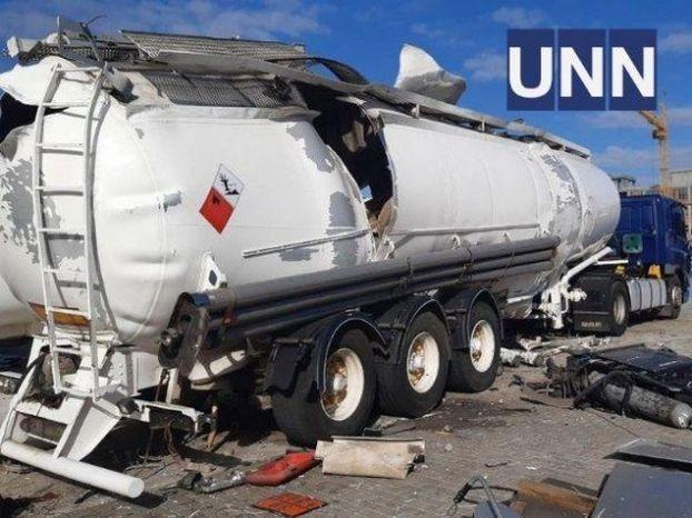 В Киеве взорвалась цистерна для перевозки газа, есть погибший