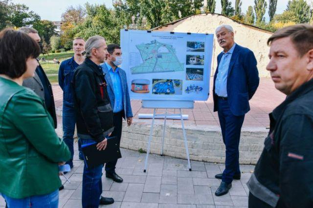 Вячеслав Непоп: ми розпочинаємо наступний етап реконструкції парку «Орлятко» в Солом'янському районі