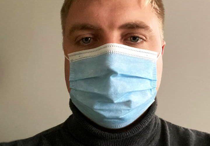 Андрій Андрєєв захворів на COVID-19
