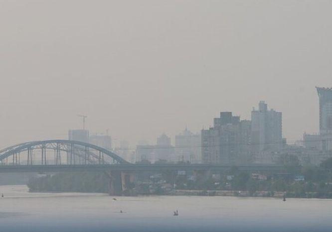 Рівень забруднення повітря у Києві знову перевищує норму