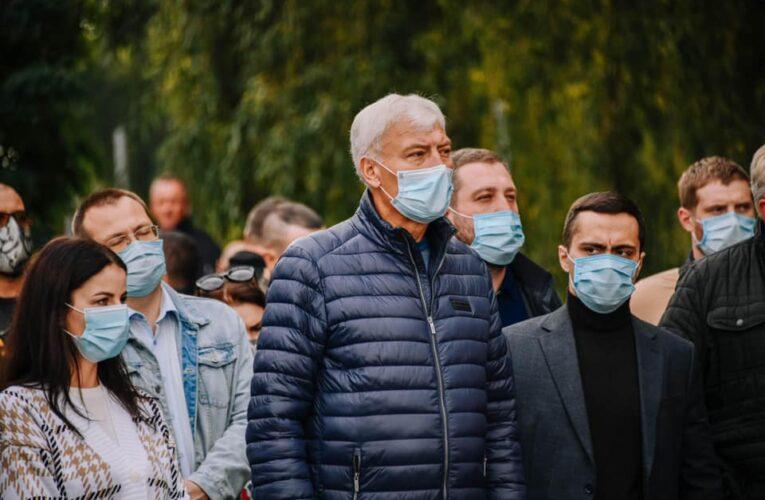 Вячеслав Непоп: Попри негоду продовжуємо покращувати наше місто та життя киян