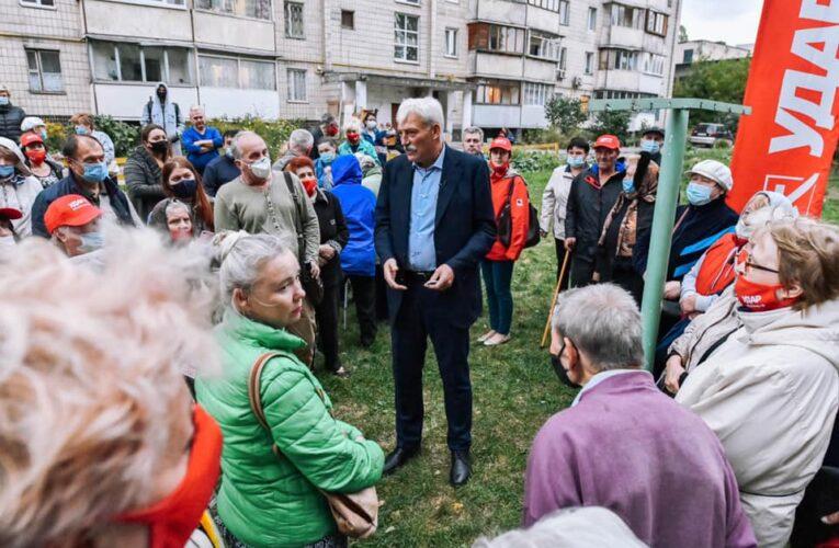 Вячеслав Непоп: Продовжую опікуватися проблемами киян та допомагаю вирішувати найболючіші