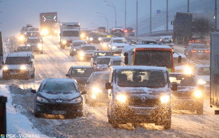 Зима на порозі: прогнозують до 12° морозу, у Києві – сніг