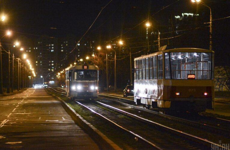 Стало відомо, як у новорічну ніч працюватиме наземний громадський транспорт у Києві
